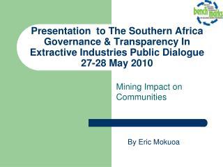Mining Impact on Communities