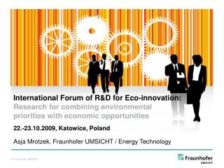 Asja Mrotzek, Fraunhofer UMSICHT / Energy Technology