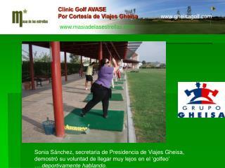 Clinic Golf AVASE Por Cortesía de Viajes Gheisa