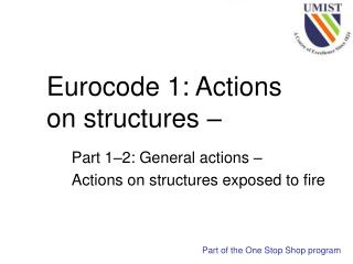 Eurocode 1: Actions on structures –