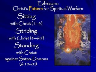Ephesians: Christ's  Pattern  for Spiritual Warfare