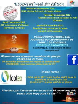 USANewsWeek 1 �re  �dition