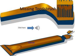 Missing Toothbrush
