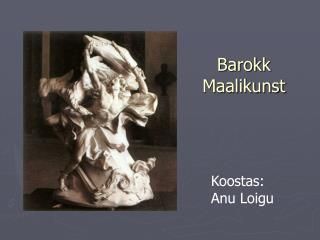 Barokk Maalikunst