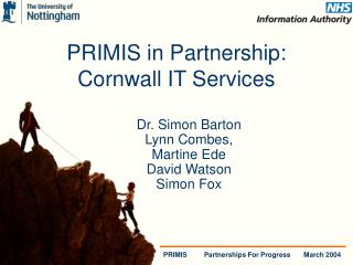 PRIMIS in Partnership:  Cornwall IT Services