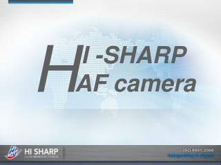 I -SHARP AF camera