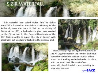 SIZIR WATERFALL