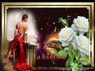 �ena  a  kvetina