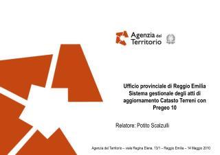 Ufficio provinciale di Reggio Emilia