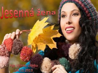 Jesenná  žena