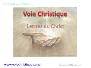 Lettres du Christ