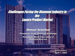 Challenges Facing the Diamond Industry in the  Luxury Product Market