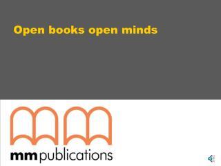 Open books open minds