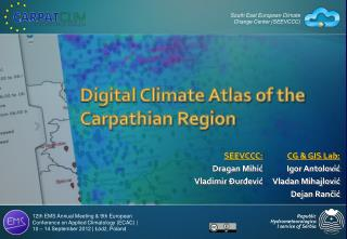 Digital Climate Atlas of the Carpathian Region