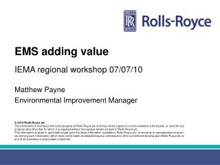 EMS adding value
