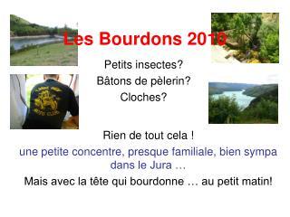 Les Bourdons 2010