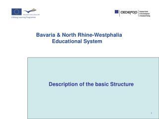Bavaria & North Rhine-Westphalia Educational System