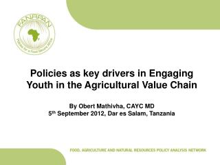 1. OVERVIEW OF AGRICULTURAL SECTOR IN RSA