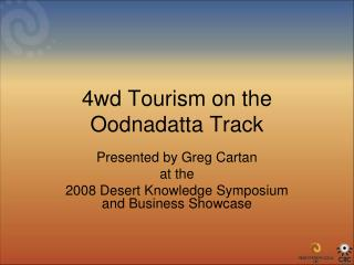 4wd Tourism on the Oodnadatta Track