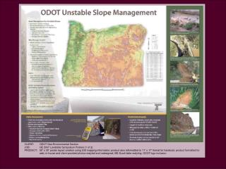 ODOT Geo-Environmental Section GE 2007 Landslide Symposium Posters (1 of 2)
