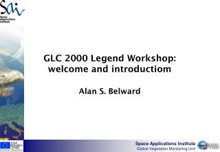 GLC 2000 Legend Workshop: welcome and introductiom