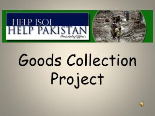Goods Collection Project
