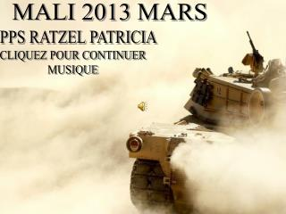 MALI 2013 MARS