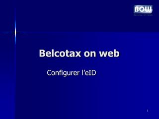 Belcotax on web