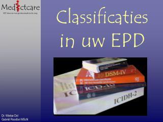 Classificaties  in uw EPD