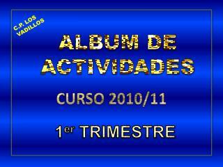 ALBUM DE ACTIVIDADES