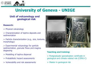 University of Geneva - UNIGE