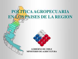 POLITICA AGROPECUARIA EN LOS PAISES DE LA REGION