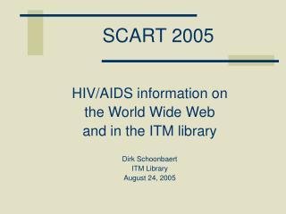SCART 2005