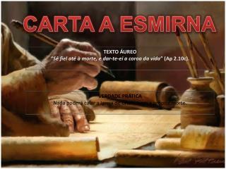 CARTA A ESMIRNA
