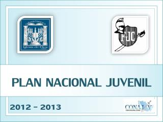 PLAN NACIONAL JUVENIL