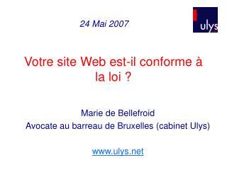 Votre site Web est-il conforme à la loi ?