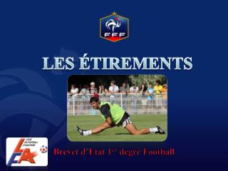 Brevet d'Etat 1 er  degré Football