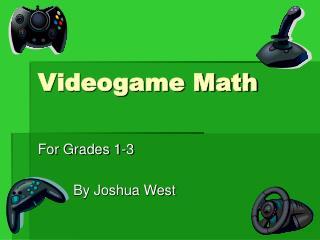Videogame Math