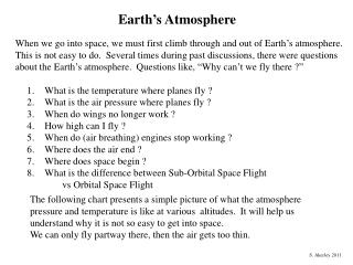 What is the temperature where planes fly ? What is the air pressure where planes fly ?