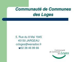 Communauté de Communes des Loges