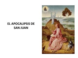 Apocalipsis de San Juan 1/3