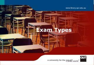 Exam Types