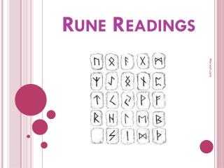 Runes Readings