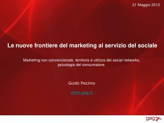 Le nuove frontiere del marketing al servizio del sociale