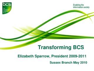 Transforming BCS