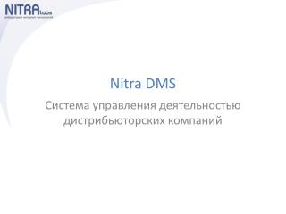 Nitra DMS