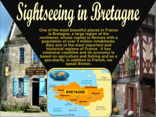 Sightseeing in Bretagne