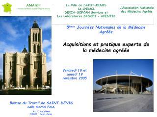 5 èmes  Journées Nationales de la Médecine Agréée