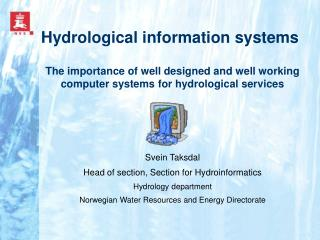 Hydrological information systems
