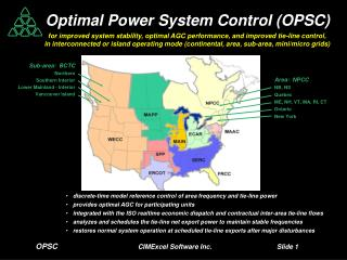OPSC CIMExcel Software Inc. 		Slide  1